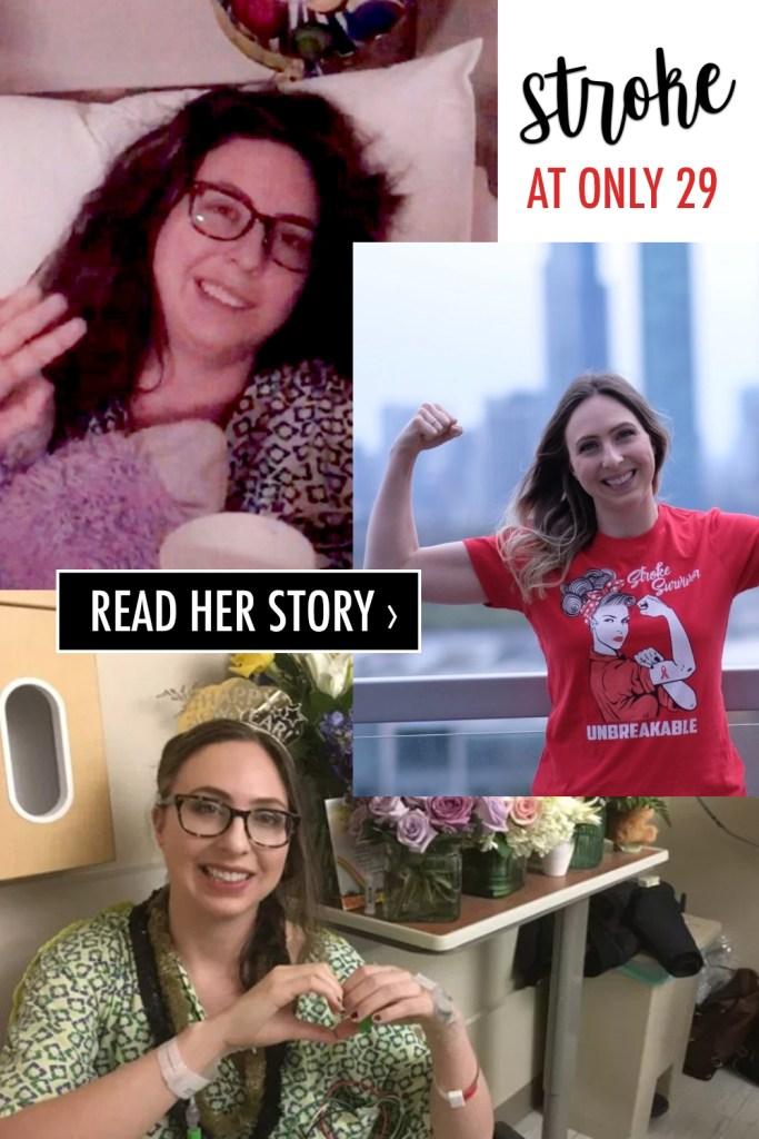 young stroke survivor story,