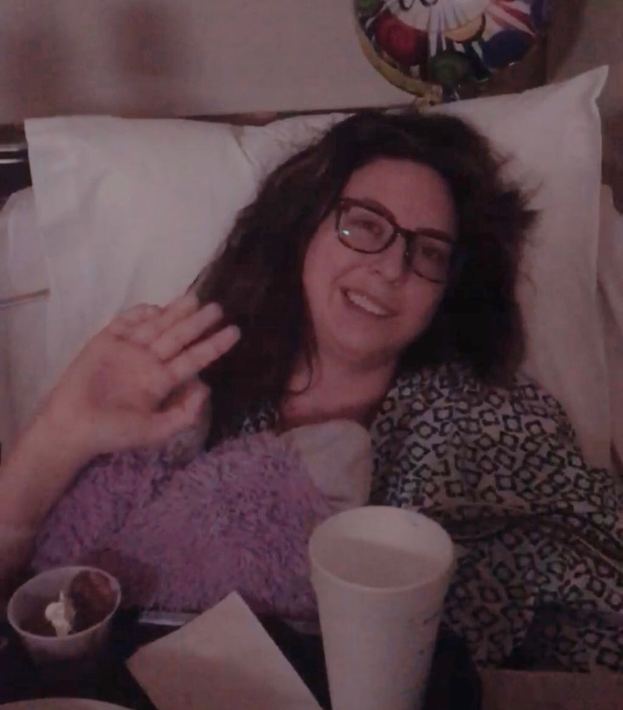 Young Stroke Survivor after surgery. Stroke deficits.